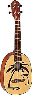 Ortega Guitars RUPA5 菠萝系列音乐会尤克里里,云杉顶,Sapele B/S,蚀棕榈树