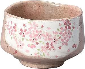 YAMAHI KANE仁抹茶碗白化妆粉色樱花 Y1729