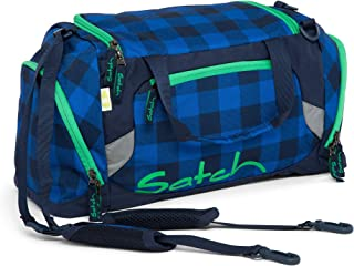 ergobag satch 配件运动套50厘米 Karo Blau Grau 50 cm