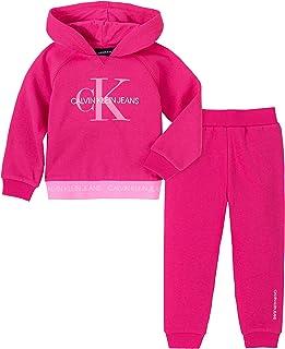 Calvin Klein 男童 3 件慢跑裤套装
