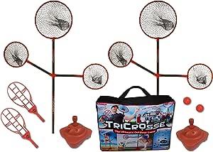 TriCrosse Extreme 套装适合室内/室外玩耍 - 适合儿童、成人和家庭的新游戏