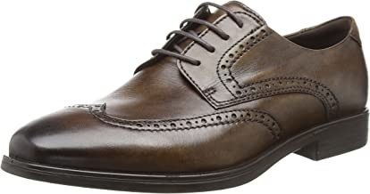 ECCO 愛步 男士Melbourne 粗革皮鞋