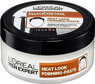 L'Oréal Paris 巴黎欧莱雅 Men Expert InvisiControl Neat Look Forming Paste,滋养自然造型,随意塑造,不粘,150毫升