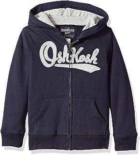 Osh Kosh Big Boys' Full Zip Logo Hoodie
