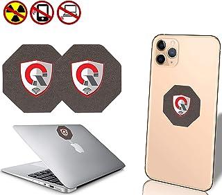 2 件装_SC *佳 EMF 保护手机:防* EMF Shield WiFi,笔记本电脑-所有设备 负离子发生器  防*屏,EMF 阻隔中和器 1.5 英寸2PACK_SC  2PackSC