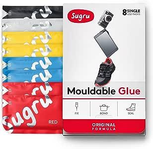 Sugru 塑形修复万能硅胶5g*8只装(经典色)