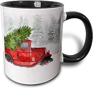3dRose 马克杯 黑色/白色 11-oz Two-Tone Black Mug mug_298749_4