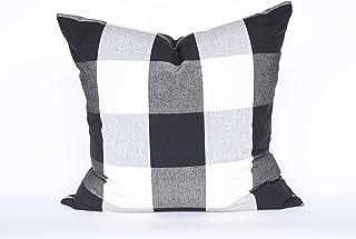 抱枕套 ( 两侧图案 )–100% 棉和涤纶–HOME 装饰性抱 / 投掷枕套靠垫适用于客厅沙发 ( 沙发 ) 或床