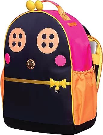 Miss Locker 可爱背包 - 青少年女孩书包单肩儿童大学女士笔记本电脑日背包儿童钱包 13、15 英寸电脑卡哇伊卡通动漫旅行背包