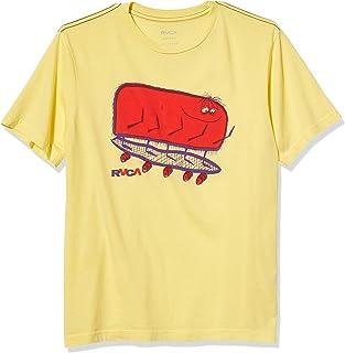 RVCA 男童 10 件短袖圆领 T 恤