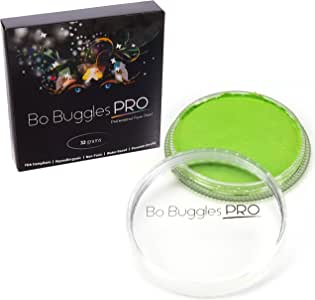 Bo Buggles 出品的 32 克经典颜色 莱姆绿 Face Paint 32 grams