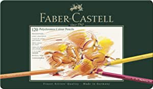 Faber-Castell 辉柏嘉 110011 Polychromos 多色彩色铅笔 铁盒装 共120色
