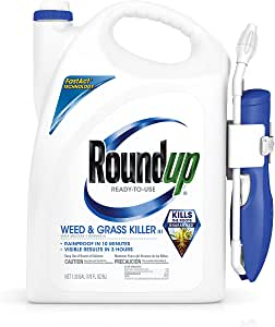 Roundup 5200210 Weed and Grass Killer III Ready-to-Use Comfort Wand Sprayer, 1.33-Gallon (Older Model)