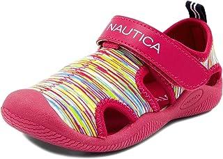Nautica Kettle Gulf 保护水鞋,包头运动凉鞋(幼儿/小童) 粉色/多色 9 M US Toddler