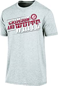 Champion NCAA 男式 Touchback 2 短袖 T 恤 杂灰色 中