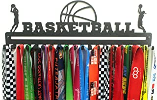"""URBN 金属壁挂式""""篮球""""运动*牌衣架和挂绳丝带展示架"""