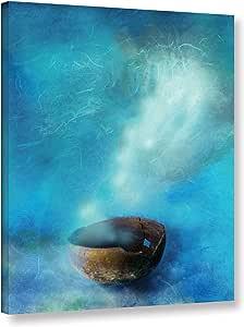 """ArtWall Elana Ray's Broken Bowl Gallery Wrapped Canvas, 24 x 32"""", Multicolor"""