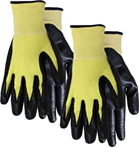 MidWest Gloves and Gear 68P02-XL-AZ-6 Men's Kevlar Lined Work Glove, Extra-Large,