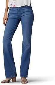 LEE 女式 Flex Motion 標準版微喇牛仔褲