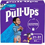 Pull-Ups Training Pants for Boys Learning Designs 2T-3T, 94 Count 94