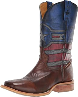 Tin Haul Shoes 男士 Justice Western 靴子