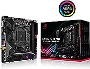 ASUS ROG Strix X570-I 游戏,X570 mini-ITX 游戏主板,AMD,AM4,Ryzen 3000,PCIe 4.0,板载 WiFi 6 (802.11ax),英特尔千兆以太网,SATA 6 Gb/s,USB 3.2 Ge