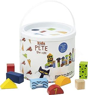 Pete The Cat 50 块形状分类木制积木套装