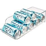 InterDesign 电冰箱和冷冻机厨房储物 BIN Clear - Set of 1 1 件套