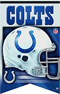 NFL Indianapolis Colts Premium Felt Banner 17-by-26