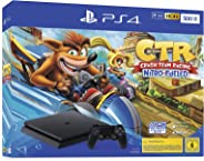 PlayStation 4 - 控制台 黑色 Crash Team Racing Bundle