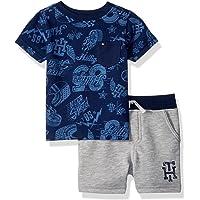TOMMY HILFIGER 婴儿男孩2件短裤套装