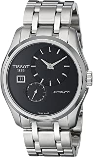 Tissot T0354281105100 模拟显示自动上链银色手表