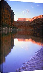 ArtWall 'Marble Canyon Sunrise' Gallery-Wrapped Canvas Art by Dean Uhlinger, 18 by 24-Inch