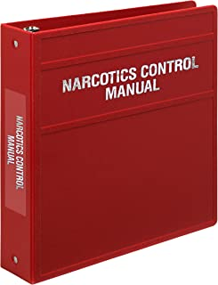 "Carstens 重型 3 个扣眼活页簿,适用*控制文档 – 侧开口 2"" 砖红色"