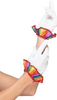 Smiffy's 47506 小丑手套,男女通用,白色,均码