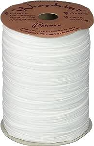 Berwick Wraphia II Matte Paper Craft Ribbon, 100-Yard Spool, White