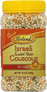 Roland Israeli Couscous, Tri-Color, 10.5 Ounce (Pack of 6)