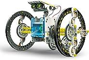 Elenco Teach Tech SolarBot.14 | 变形太阳能机器人套件 | STEM 儿童教育玩具 10 岁以上