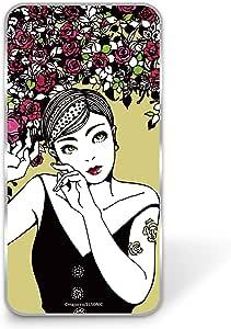 majocco 壳 透明 硬质 印刷 玫瑰和短款WN-LC835307 2_ Xperia XA2 Ultra H4213 バラとショートカットE