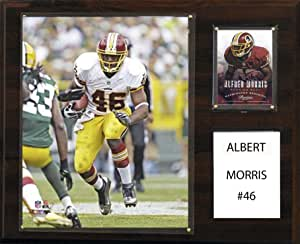 NFL Washington Redskins Alfred Morris Player Plaque, 12 x 15-Inch