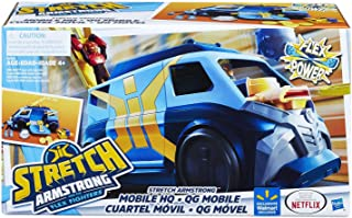 Stretch Armstrong 和 the Flex Fighters Flex Power Mobile Headquarters HQ 厢式货车
