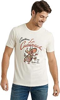 Lucky Brand 男式短袖圆领 La Cucaracha T 恤