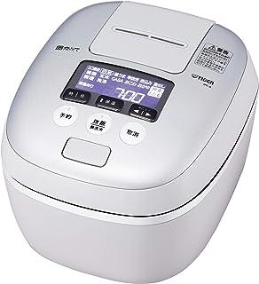 タイガー 炊飯器 圧力IH式 極うま機能 炊きたて 5.5合炊き ホワイトグレー JPC-A101-WH 需配变压器