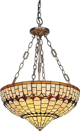 ivintage 艺术吊灯带链,棕色,45 x 90/205 厘米