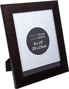 Truu 设计,纹理相框 古铜色 8 x 10 inches 65094DC-AB