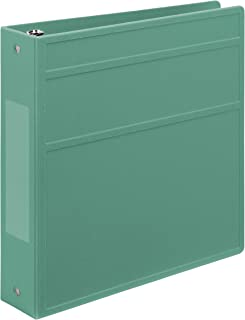 Carstens 2 英寸重型 3 个扣眼活页簿 - 侧开口 薄荷绿