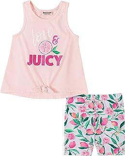 Juicy Couture 橘滋 女童骑行短裤套装