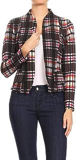 Missy 女式休闲商务修身长袖运动夹克 J907