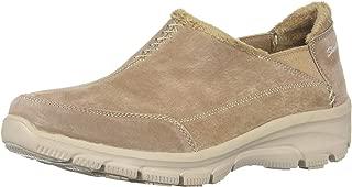 Skechers Easy Going-Hive-Twin Gore Shootie 女士人造皮草装饰乐福鞋