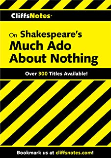 CliffsNotes on Shakespeare's Much Ado About Nothing (Cliffsnotes Literature Guides) (English Edition)